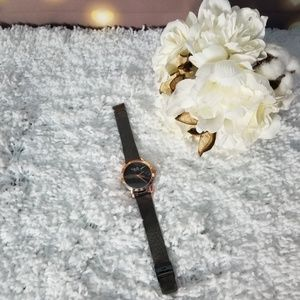 Milano Expressions Watch Marble Face Rose Gold